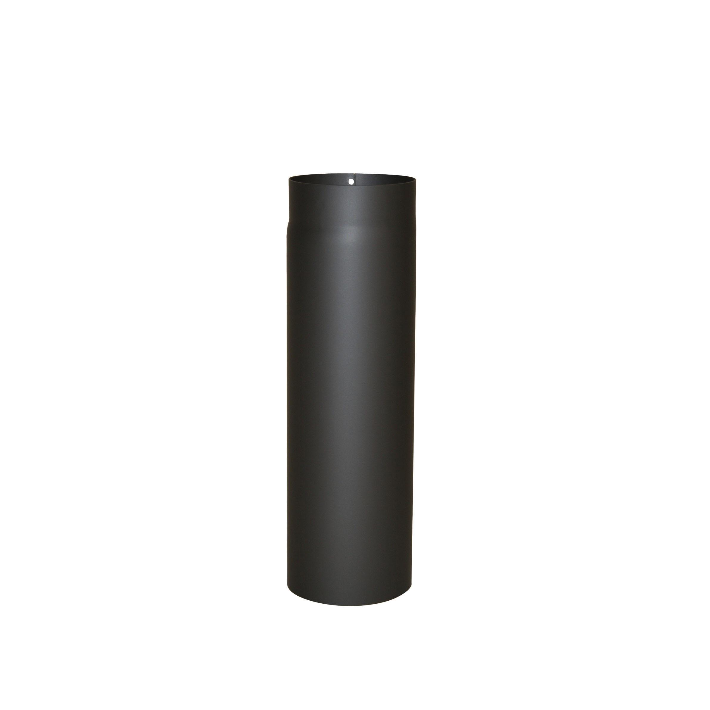 Ofenrohr-150mm-Rauchrohr-2mm-Kaminrohr-Bogen-Rosette-Knie-Wandfutter-Rohrhalter