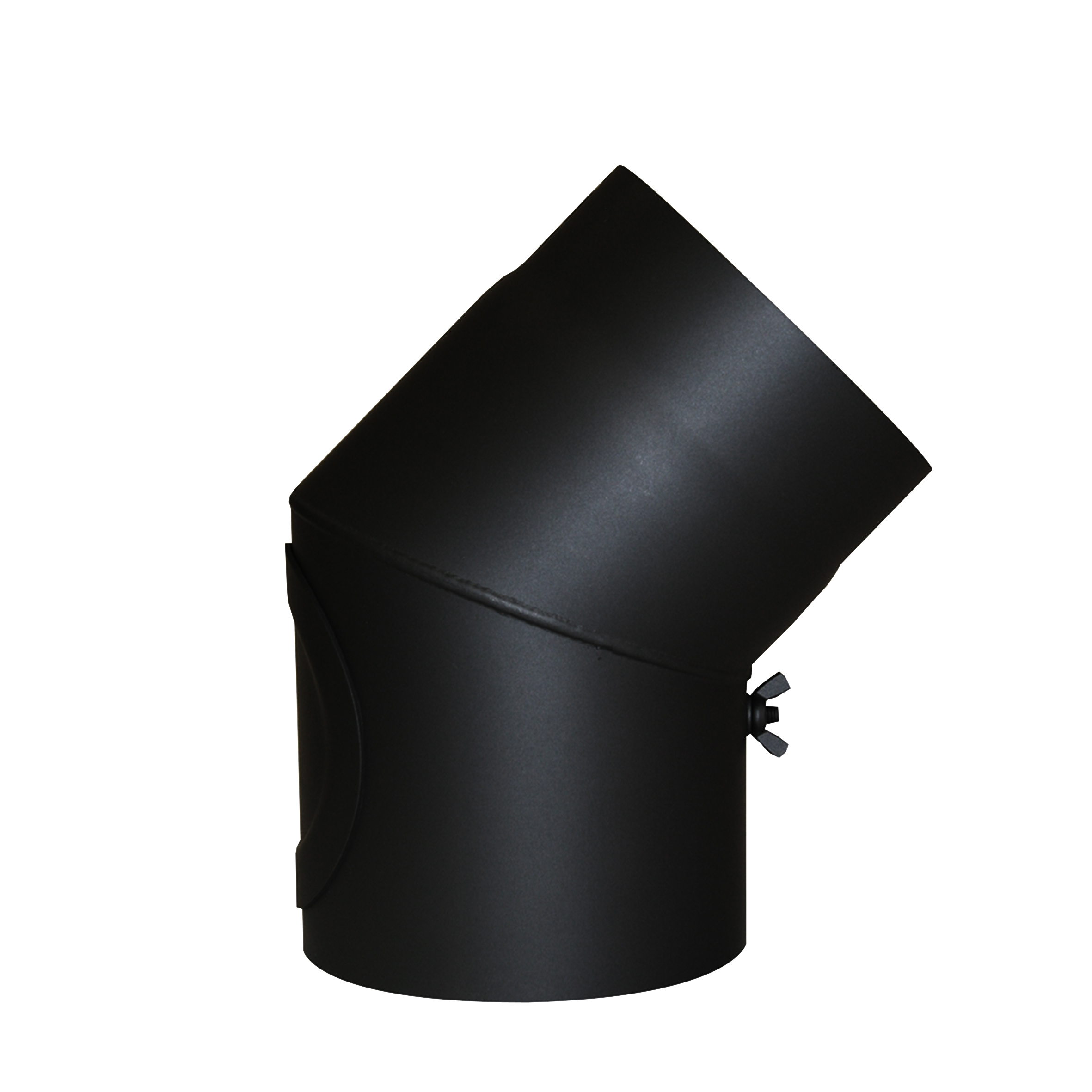 Ofenrohr-150mm-Rauchrohr-2mm-Ofen-Rohr-Bogen-Rosette-Knie-Wandfutter-Rohrhalter