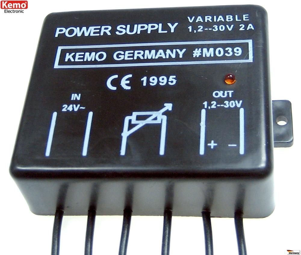 Kemo-M039-Netzgeraet-ca-1-2V-30V-DC-max-2A-power-supply-FREI-HAUS