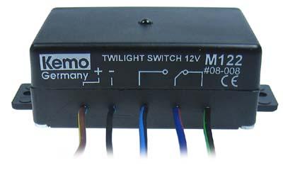 Kemo-M122-Daemmerungsschalter-Schalter-Einbauschalter-12-V-FREI-HAUS