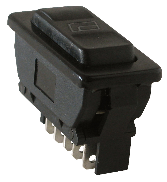 KFZ-Einbautaster-Taster-Tastknopf-5pol-12VDC-20A-PF
